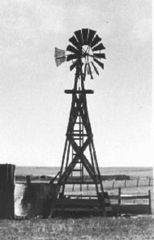Windmill Becomes Popular Water Pumping Tool of Western Homesteaders and Railroad Builders