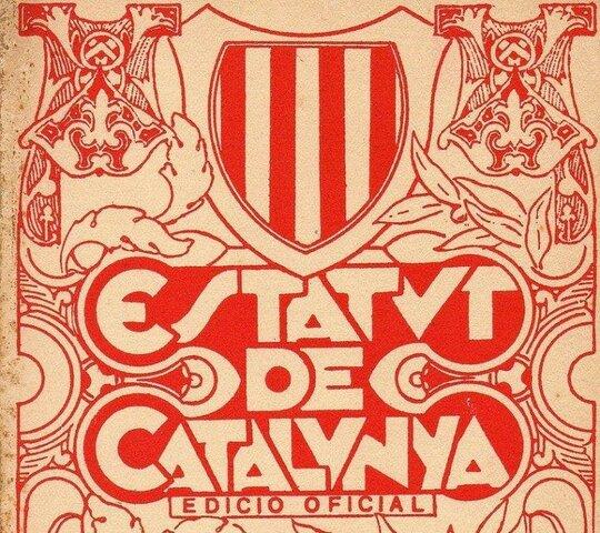 Aprobación del Estatuto de Cataluña (septiembre)