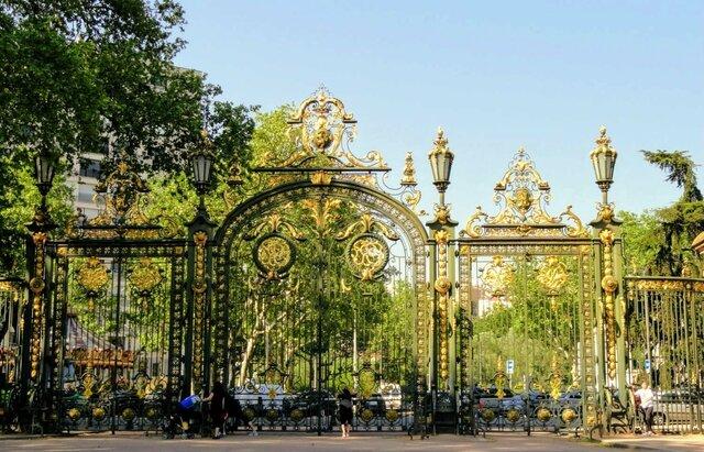 Le parc de la Tête d'Or.