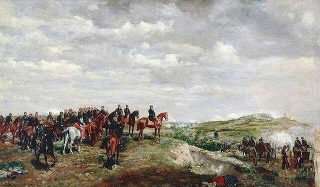 Guerra contra Austria e incorporación de Lombardia.