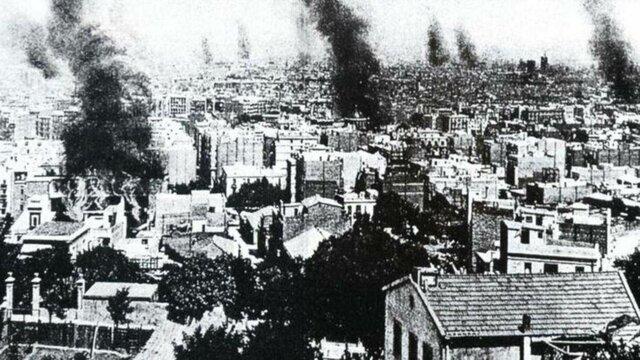 Semana trágica de Barcelona.