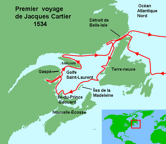 Le premier voyage de Jacques Cartier