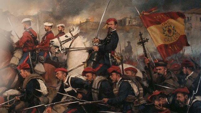 Los Carlistas, defensores del Antiguo Régimen