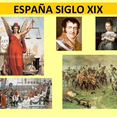 La España XIX timeline