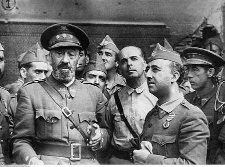 Franco toma Cáceres y Toledo. Liberación del Alcázar