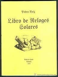 Libro de los Relojes solares.
