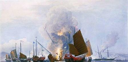 La primera guerra del opio