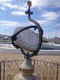 Reloj solar ecuatorial