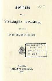 Proclamación de una Constitución