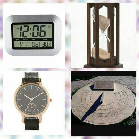 Ejemplos de instrumentos de medición del tiempo