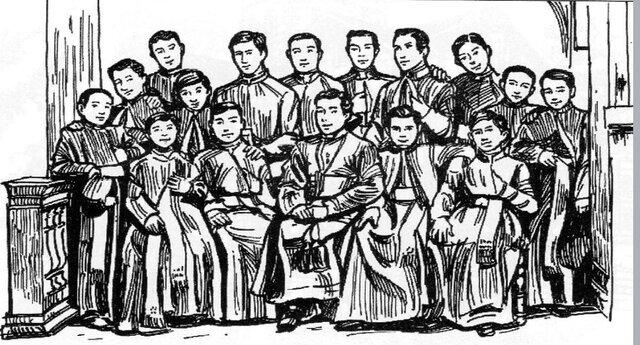 Fundación del colegio San Luis Gonzaga