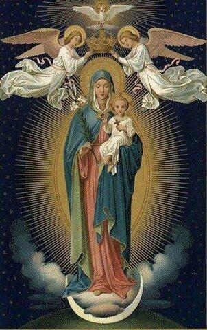 La coronación de nuestra señora de Guadalupe