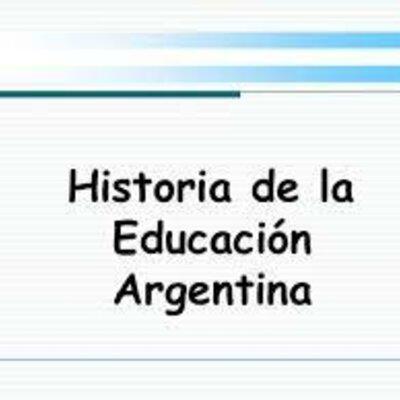 LA EDUCACIÓN FÍSICA EN ARGENTINA timeline