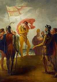 Ricardo II vuelve a desembarcar en Irlanda,