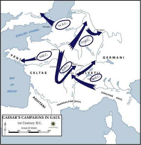 Julius Caesar's Rise