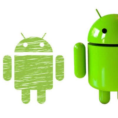 La evolución de Android timeline