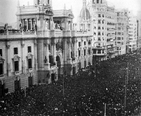 Traslado del gobierno republicano a Valencia (6 de noviembre)