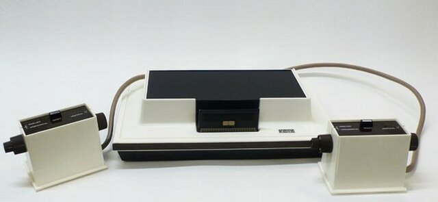 Primera video consola domestica comercial (Magnavox Odyssey)