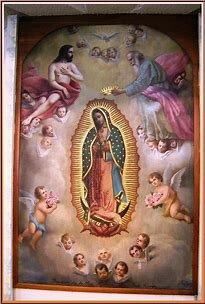La coronación de la imagen de María de Guadalupe