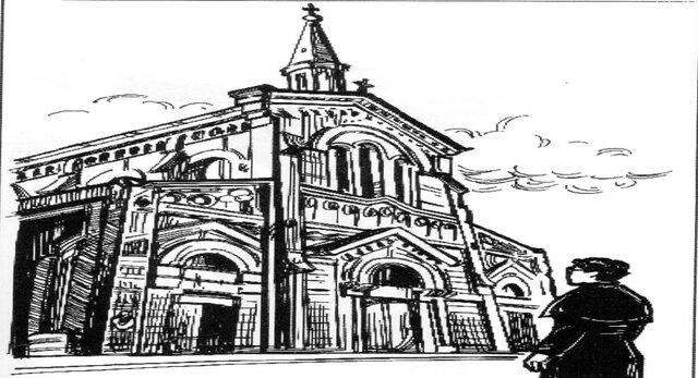 El templo de San Felipe de Jesús