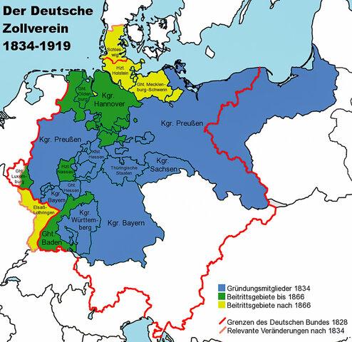 Tratados de Zollverein