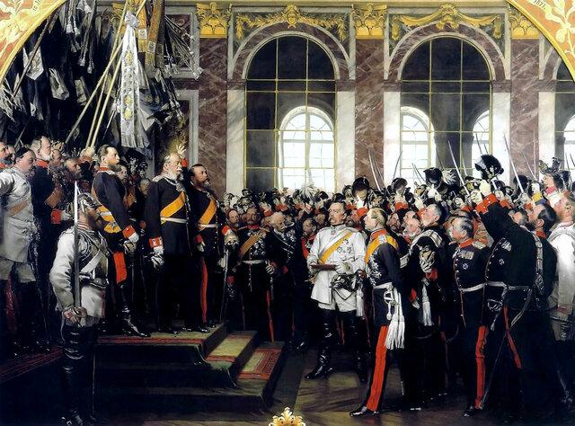 Proclamación del II Reich