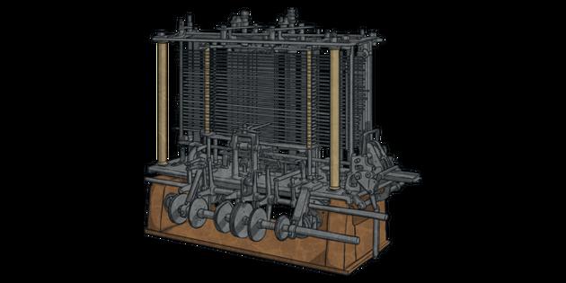 Charles Babbage - 1era Computadora para problemas lógicos y computacionales