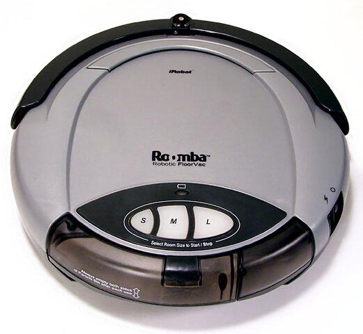 Roomba, una aspiradora robot de limpieza