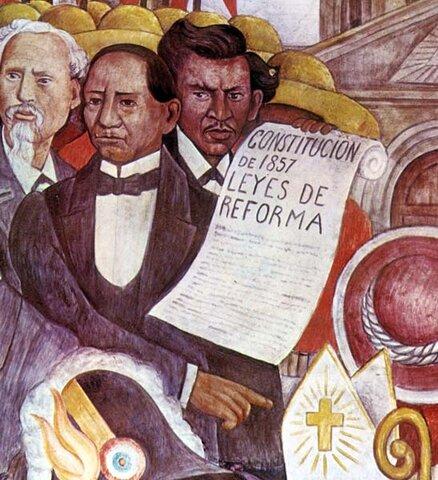 Reforma encabezada por Benito Juárez.