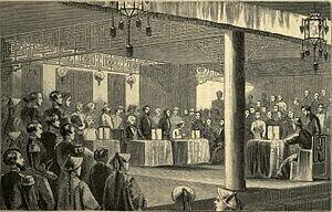Las convenciones firmadas en Pekín