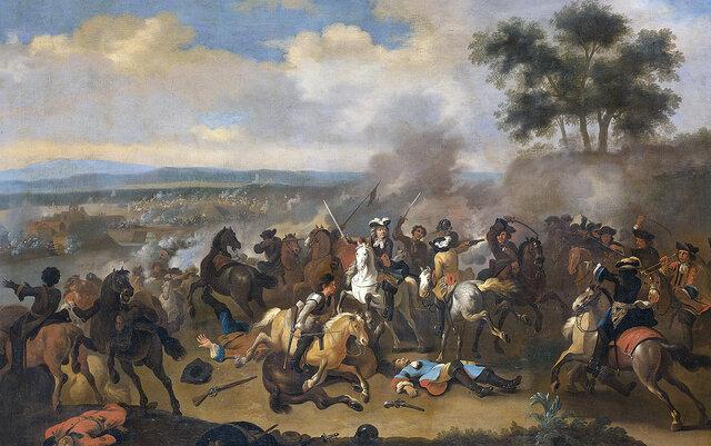 El ejército de Jacobo II se rinde