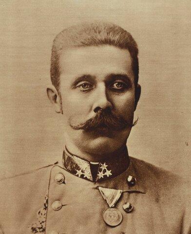 Assassinat de l'hereu de l'imperi, Francesc Ferran.