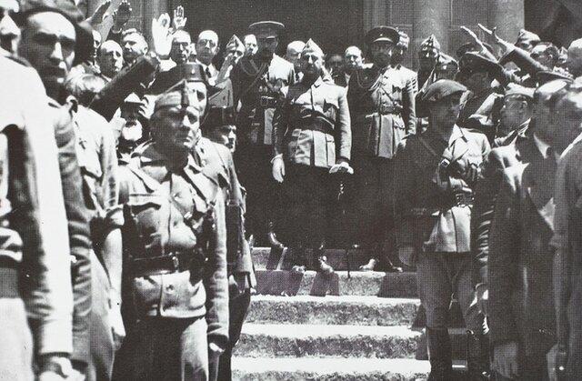 El gobierno de Burgos: el inicio de la dictadura franquista.