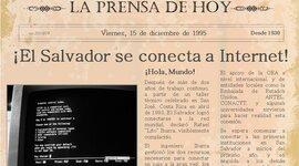 HISTORIA DE EL INTERNET EN EL SALVADOR timeline