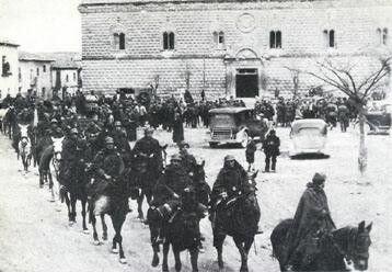 Inicio de la Batalla de Guadalajara