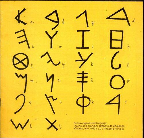 Base del alfabeto