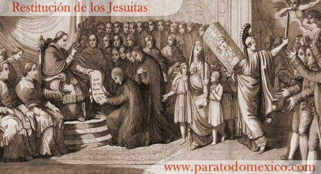 Restitución de los Jesuitas