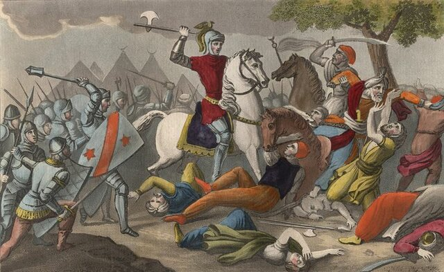 The Victory of the Frankish Kingdoms