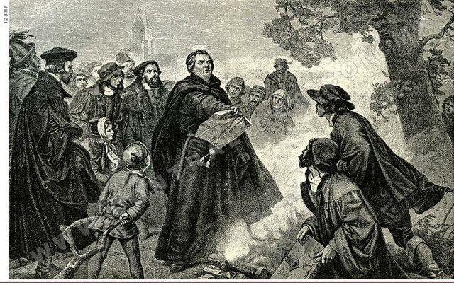 Tención religiosa entre calvinistas y católicos.