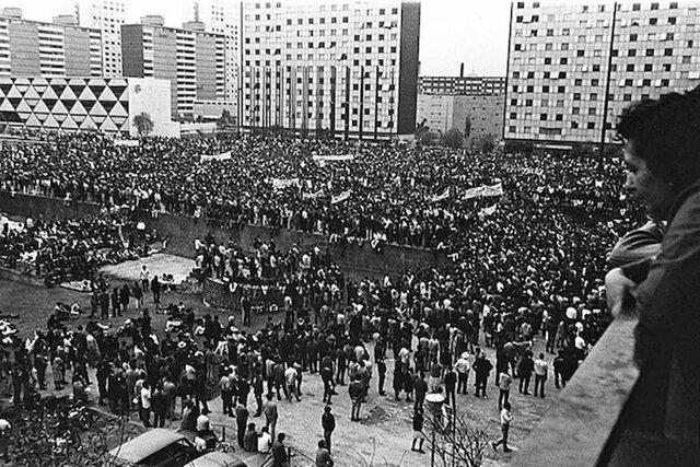 Matanza de estudiantes en Tlatelolco