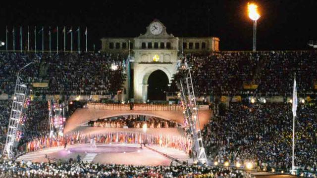 Los juegos olímpicos en Barcelona