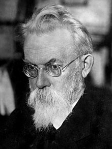 ''Teórico de la Noosfera'', Vladímir Vernadski.
