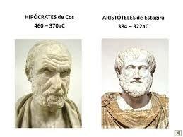 Aristóteles e Hipócrates