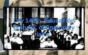 Ley N 1420 Educación común.