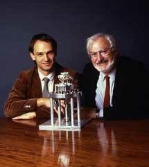 1981 Gerd Binnig y Heinrich Rohrer