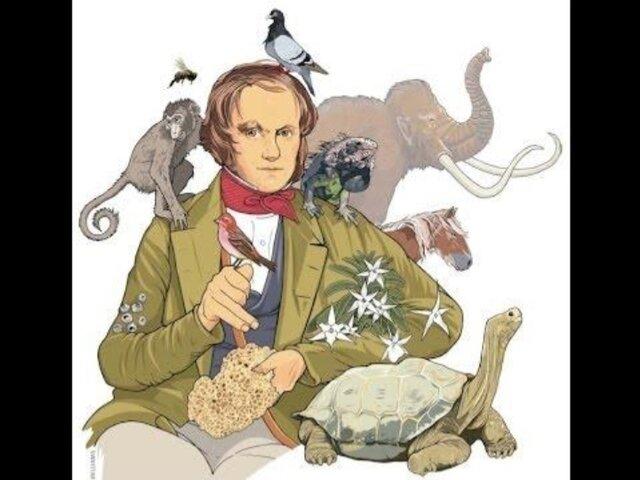 Darwin  hace pública su teoria sobre la evolucion de las especies