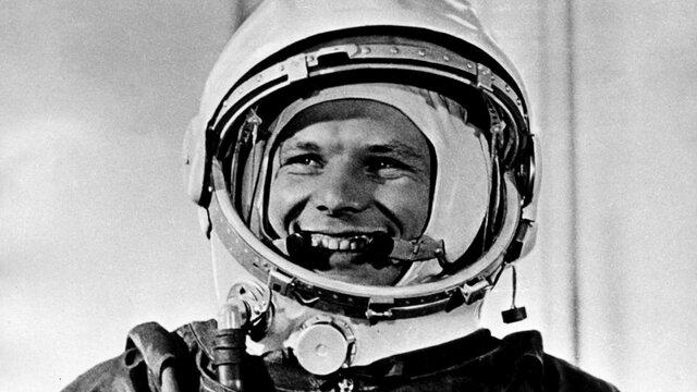 el primer viaje al espacio