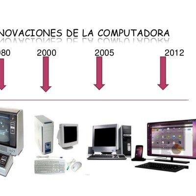 Línea del tiempo historia de la computación-Joan Cáceres  timeline