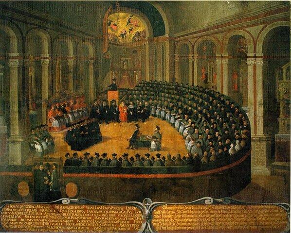 Fundación de la Contrarreforma de la iglesia a la reforma protestante