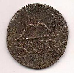DINERO FUDICIARIO 1800 d.C